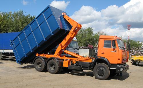 О вывозе мусора в Московский НМАО