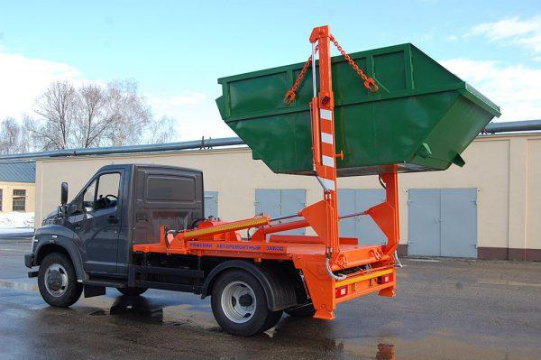 О вывозе 38 м3 мусора