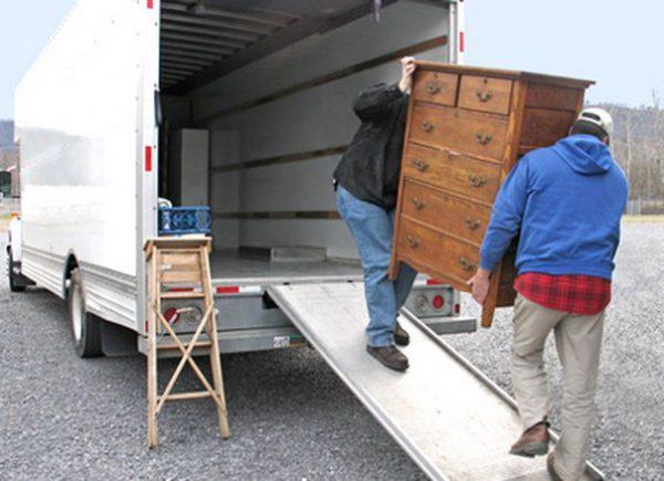 О вывозе мебели