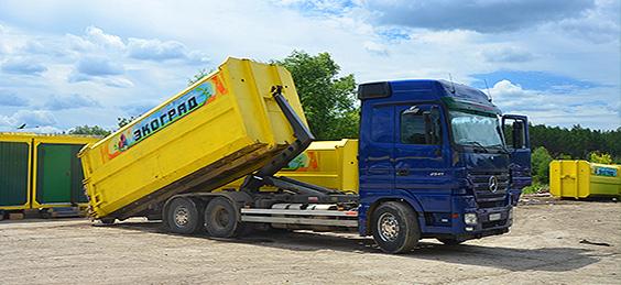 О вывозе мусора в Марушкинское НМАО