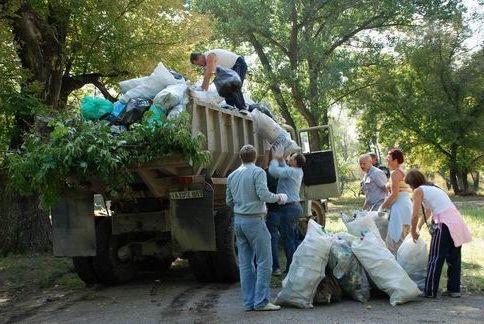 О вывозе мусора в Старое Крюково