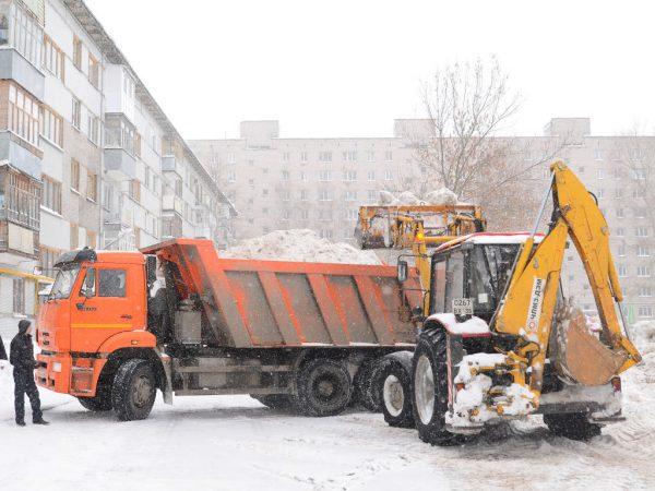 О вывозе снега