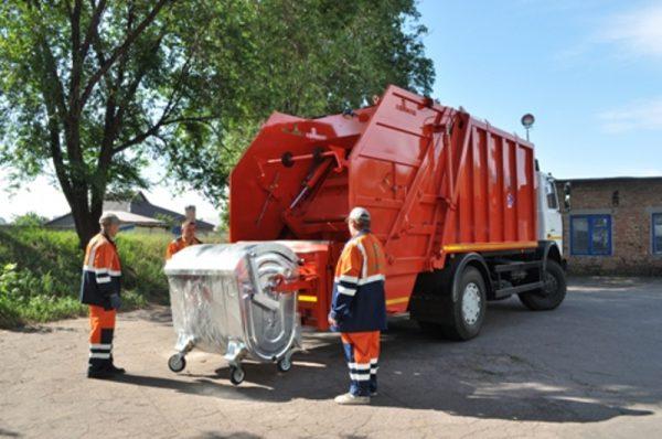 О вывозе мусора 4 куба